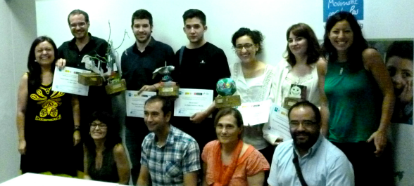 Entrega premis periodisme xarxa ciutadana per la Pau